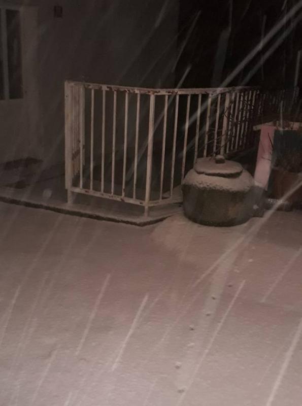 FOTO/VIDEO Snježna idila na Pelješcu